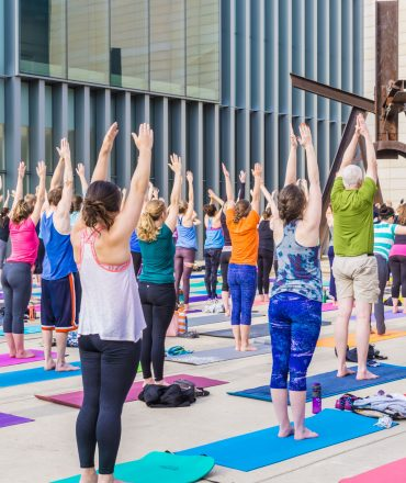 stock photo 159515315 370x440 - Yoga Festival in London